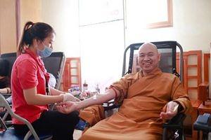 'Ngày hội hiến máu cứu người' thu được hơn 200 đơn vị máu
