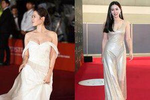 Son Ye Jin bao lần khiến khán giả thổn thức trước loạt váy khoét sâu lấp ló vòng 1 căng đầy
