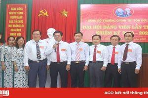 Đồng chí Hồ Ngọc Trường được bầu làm Bí thư Đảng ủy Trường Chính trị Tôn Đức Thắng