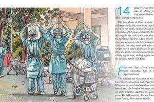 'Con đã về nhà' - ký họa về cuộc chiến chống dịch COVID-19