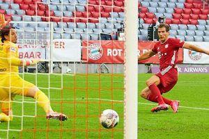 Thắng trận thứ 13 liên tiếp, Bayern chỉ còn cách chức vô địch 1 trận