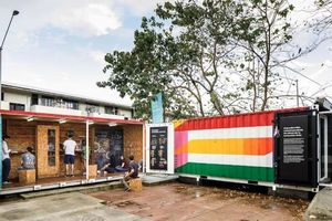 Bảo tàng container ở Panama