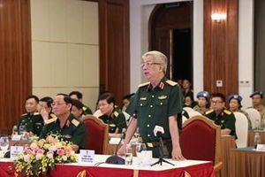 Hội nghị trực tuyến Ban Chỉ đạo Bộ Quốc phòng với lực lượng mũ nồi xanh Việt Nam tại CH Nam Sudan và CH Trung Phi