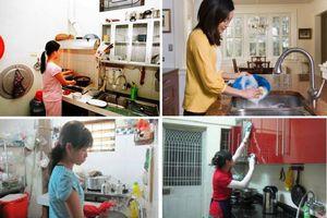 Hỗ trợ người giúp việc gia đình vượt qua đại dịch