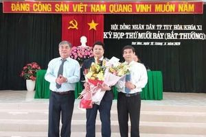 Thành phố Tuy Hòa có chủ tịch mới sinh năm 1981
