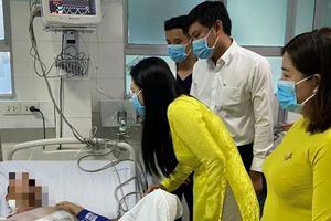 Cứu bệnh nhân bị đâm thấu ngực khi tham gia bắt cướp