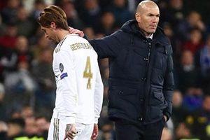 Ramos nói gì khi bị HLV Zidane thay ra ở trận Real đánh bại Eibar?