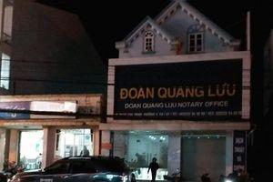 3 cán bộ phòng, văn phòng công chứng ở Lâm Đồng bị bắt
