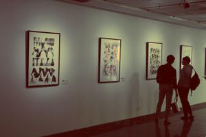 Thưởng thức những bức tranh 'biết phát nhạc' ở Hà Nội