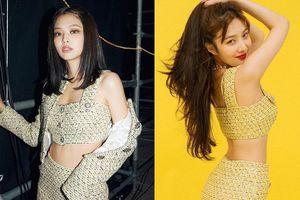 Jennie và Joy đọ vẻ sành điệu khi mặc váy áo đụng hàng