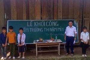 Xây 4 trường học cho con em người lao động vùng cao
