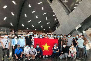 Dịch Covid-19: 266 công dân Việt Nam từ Kuwait, Qatar và Ai Cập hạ cánh an toàn tại sân bay Tân Sơn Nhất