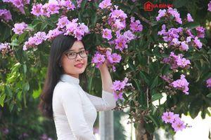 Hà Nội tím ngắt mùa bằng lăng