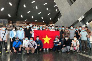 Đưa 266 công dân Việt Nam từ Kuwait, Qatar, Ai Cập về nước an toàn