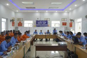 PC Bình Định tổ chức diễn tập phòng chống thiên tai và tìm kiếm cứu nạn