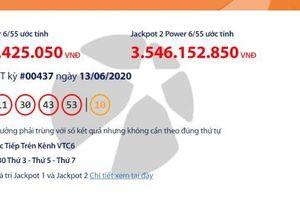Kết quả xổ số Vietlott Power 6/55 tối ngày 16/6/2020: Điểm danh những người trúng hơn 55 tỉ đồng?