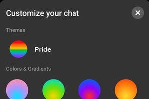 Messenger tung giao diện mới cổ động cộng đồng LGBT