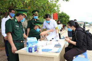 BĐBP Sơn La phối hợp đón lưu học sinh Lào nhập cảnh, trở lại học tập