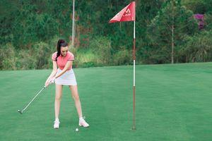 CEO Trần Huyền Nhung chơi golf để học tính kiên nhẫn