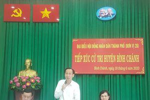 Cử tri huyện Bình Chánh kiến nghị điều chỉnh quy hoạch tại nhiều khu vực