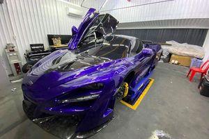 Đại gia Vũng Tàu chi hơn 3 tỷ đồng độ siêu xe McLaren 720S