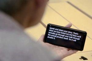 Ứng dụng 'xả' băng ghi âm của Google: Cứu cánh cho nhà báo