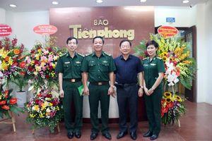 Bộ Tư lệnh BĐBP chúc mừng các cơ quan báo chí tại Hà Nội