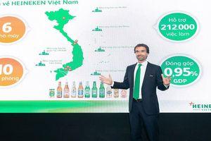 HEINEKEN Việt Nam hướng tới mục tiêu đầy tham vọng vào năm 2025
