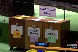 Liên hợp quốc lần đầu tiên mở cửa để bỏ phiếu bầu các cơ quan chủ chốt