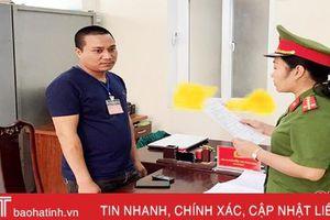 Bắt giam lái xe gây tai nạn chết người rồi bỏ trốn ở Hà Tĩnh