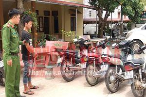 Bắt giữ đối tượng liên tiếp trộm xe máy
