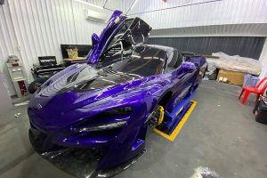 Cận cảnh siêu xe McLaren 720S được đại gia Vũng Tàu chi hơn 3 tỷ để độ