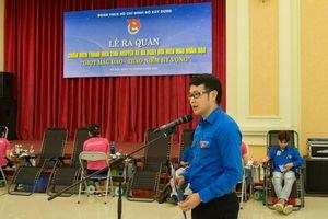Đoàn Thanh niên Bộ Xây dựng sôi nổi với các hoạt động hiến máu tình nguyện