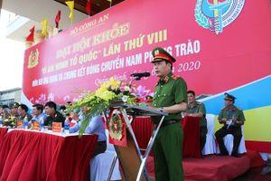 Thứ trưởng Lê Quốc Hùng dự Đại hội khỏe 'Vì an ninh Tổ quốc' lần thứ VIII