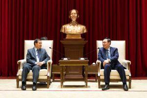 Hà Nội luôn nỗ lực hết sức vun đắp mối quan hệ hữu nghị Việt Nam - Lào