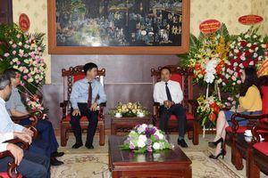 Lãnh đạo Đảng, Nhà nước thăm, chúc mừng Báo Nhân Dân nhân dịp 21-6