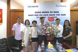 CĐ DKVN chúc mừng Tạp chí Năng lượng Mới - PetroTimes nhân Ngày Báo chí Cách mạng Việt Nam