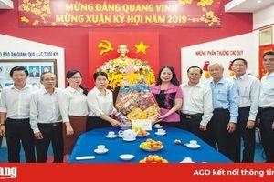 Chào mừng Đại hội lần thứ VII Hội Nhà báo Việt Nam tỉnh An Giang, nhiệm kỳ 2020-2025