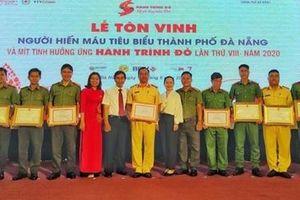 Tôn vinh nhiều cán bộ, chiến sĩ Công an hàng chục lần hiến máu tình nguyện
