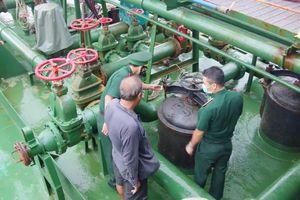 Bà Rịa-Vũng Tàu: Tạm giữ tàu chở dầu không rõ nguồn gốc