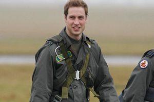 Ảnh thời thanh niên điển trai như tài tử của Hoàng tử William