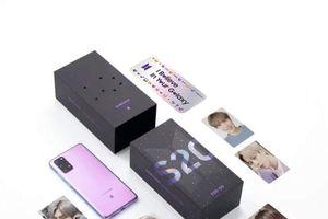 Samsung Galaxy S20+ BTS Edition cháy hàng sau 1 giờ