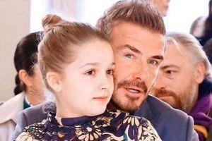 Con gái Beckham không muốn đi học
