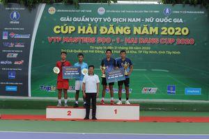 Lý Hoàng Nam trở lại bằng cú đúp vô địch giải VTF Masters 500