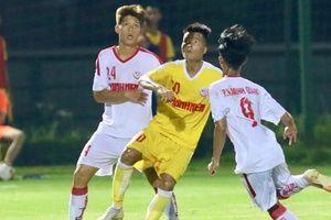 Lượt 2 VCK U19 Quốc gia 2020: Hoàng Anh Gia Lai, B.Bình Dương bại trận
