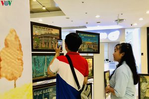 Độc đáo triển lãm tranh gạo tổ chức ở Cần Thơ