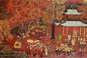 Lần đầu tiên đấu giá tranh sơn mài của danh họa Nguyễn Gia Trí tại Việt Nam