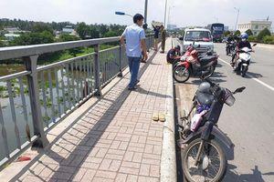 Nghi án bị 'giang hồ' đòi nợ, người đàn ông hoảng loạn nhảy xuống sông Sài Gòn mất tích