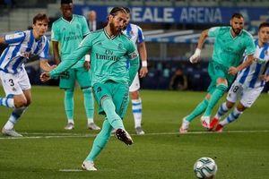 Đánh bại Sociedad, Real chính thức vươn lên ngôi đầu bảng xếp hạng