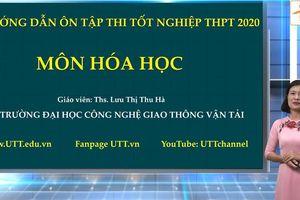 Hướng dẫn ôn tập hóa học thi tốt nghiệp THPT 2020: Sự điện ly